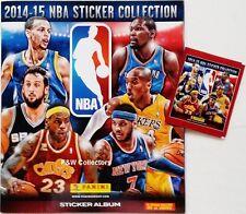 PANINI NBA STICKER COLLECTION 2014-2015 STARTER ALBUM & 1 STICKER PACK NEW