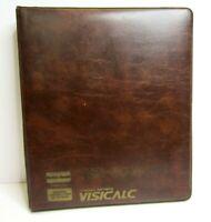 Visicalc Manual Business Software Binder Radio Shack TRS-80 Model 1 26-1566