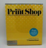 Commodore 64 The Print Shop Broderbund  (I-1)