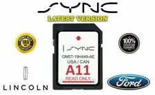 FORD A11 NEW LINCOLN US CANADA SYNC NAVIGATION SD CARD MAP UPDATE 2020