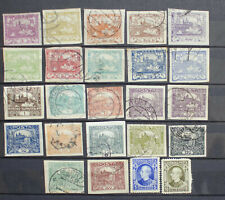 UNCHECKED SELECTION OF EARLY CZECHOSLOVAKIA Stamps - Imperfs