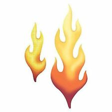 Flames / Flame Fire Wallies Cutouts 12200