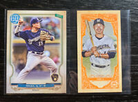 Keston Hiura Lot(2) 2020 Topps Gypsy Queen Milwaukee Brewers