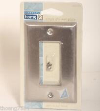 Satin Nickel GFCI Decorator Single Light Switch Wall Toggle Wallplate Cover