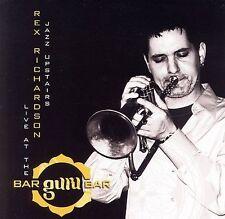 FREE US SH (int'l sh=$0-$3) ~LikeNew CD Rex Richardson: Jazz Upstairs: Live at t