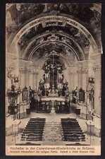 88458 AK Krzeszów Grüssau 1921 Hochaltar in der Klosterkirche