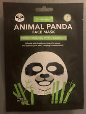 Spatherapy ANIMAL PANDA MOISTURIZING FACE MASK With BAMBOO Extract Skin Care