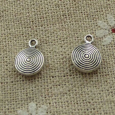 free ship 280 pieces tibetan silver nice charms 11x8mm #3719