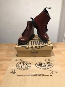 NPS SOLOVAIR Oxblood Leather 8 Eye Derby Boot! SizeUK7! New! Only £149.90!
