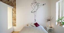 Wall Room Decor Art Vinyl Sticker Mural Decal Ballet Dance Women Ballerina FI365
