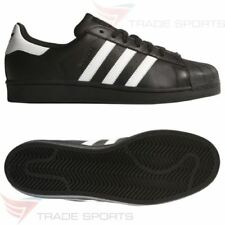 Baskets superstars noirs adidas pour homme
