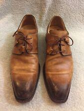 CALZOLERIA HARRIS Firenze Barneys New York Brown Leather Oxford 9492 Sz 8 Us 9
