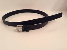 BNWTT 100% Auth Michael Kors, Mens Leather Black Belt With Logo. 4 / L-XL