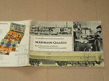 GROS Catalogue Train MARKLIN HO & Jouet Auto   brochure Prospekt Prospectus