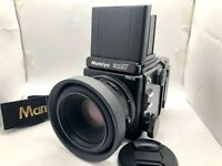 【 MINT】 Mamiya RZ67 Pro II + Sekor Z 110mm f2.8 W + 120 Film back II From Japan