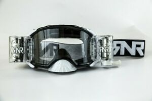 RIP N ROLL RNR PLATINUM WVS 48MM ROLL OFF GOGGLES BLACK MOTOCROSS ENDURO CHEAP