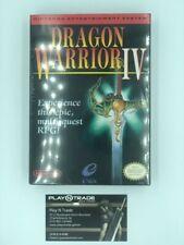 Dragon Warrior IV 4 Nintendo NES Brand New Canadian Sealed Copy Very Very Rare!