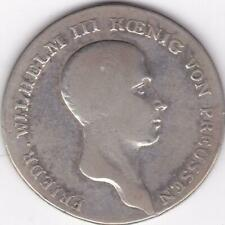 German States Prussia 1814 A Taler Silver Coin Thaler