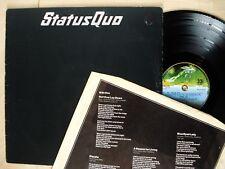 Status Quo Hello! + Inner 1Y//2 2Y//3 Embossed UK LP Vertigo 6360 098 1973 EX