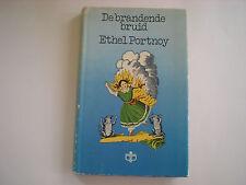 Vintage Book De Brandende Bruid by Ethel Portney hardcover with jacket in Dutch