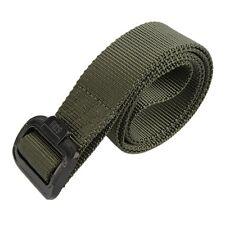 "Tactical / Military Style Nylon / Web TDU Belt - OLIVE - NEW - 1.5"" Width"