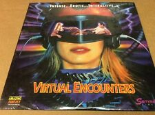 Virtual Encounters Laserdisc SEALED BRAND NEW