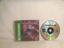 WipEout (Sony PlayStation 1, 1996)  complete