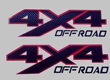 4x4 off road decal carbon fiber stickers silverado truck chevrolet  (SET)