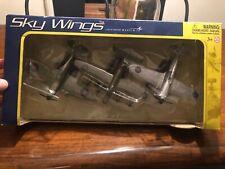 NIB Motor Max SKY WINGS Die-cast metal & plastic No.76328 collectors edition.