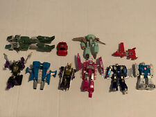 Transformers Takara Lot Of 10 1980's Toys Vintage