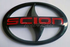 For Scion large Black Emblem Badge Sticker decal tC xA xB trunk red logo letter