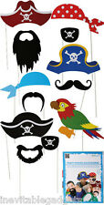 Deluxe Pirate Party Fun Photo Booth Props Boys Kids Large Props
