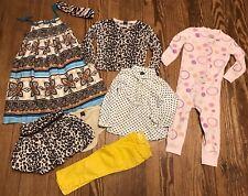 BABY GAP TODDLER GIRL LOT LEOPARD SKIRT MUSTARD SKINNY PANTS DRESS SHIRT 18-24 M