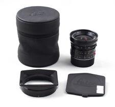 Ex+ Leica Elmarit-M E55 24mm f/2.8 ASPH w/ hood, 24/2.8