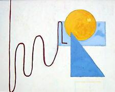 Robertus (Rob) Schrijver / modernes Gemälde,signiert / Opus 63 / 1981