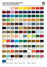 Pick any 5 Vallejo Game Color Paints, Inks, Washes, or Mediums