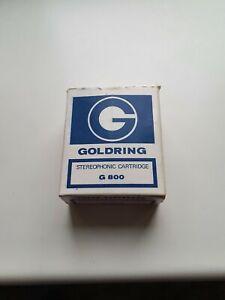 Goldring g800 cartridge & stylus