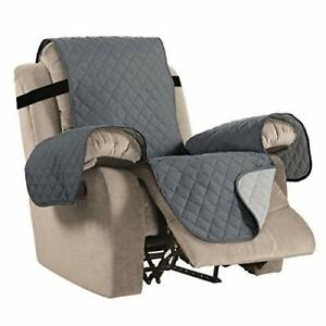 Waterproof Recliner Chair Covers for Armchairs Protect from Pets/Dogs, Non Slip