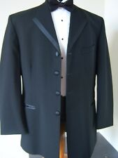 LOT OF 85 BLACK TUXEDO FORMAL COATS - ALL SIZES boys size 3 to men's 58L