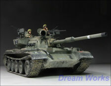Award Winner Built Tamiya 1/35 Israeli Tiran 5 Medium Tank +Crew +Accessoris