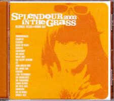 SPLENDOUR IN THE GRASS 2003 BYRON BAY 21 TRACK CD - EXCELLENT - VGC
