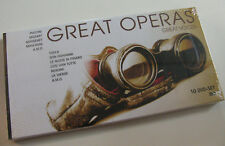 Great Operas - Great Voices - 10 DVD-SET