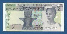 GHANA -- 2 CEDIS ( 1982 ) -- UNC -- PICK 18d .