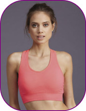 NEW size L/XL By Adore Sport Fitness Crop Top in Diva Pink Size L - X LARGE bnwt