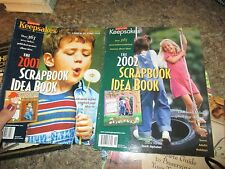 Lot of 5 Mat Framing Decoration Picture Project Idea Book  - FOL
