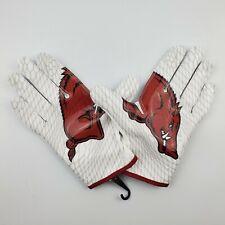 Arkansas Razorbacks NCAA Nike Vapor Knit Football Receiver Gloves Size XL