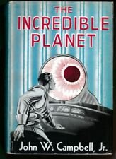 FIRST EDITION The Incredible Planet (1949) JOHN W CAMPBELL - FANTASY PRESS HBDJ