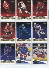 2000/01 UD HEROES HOCKEY SET 1-180