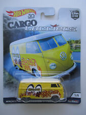 HOTWHEELS CAR CULTURE CARGO CARRIERS *VOLKSWAGEN T1 PANEL BUS* #1/5 NEW! HTF