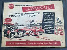 Gilbert American Flyer Auto Rama Figure 8 Race Set No. 19080
